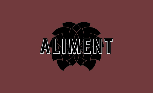 Aliment logo and business card