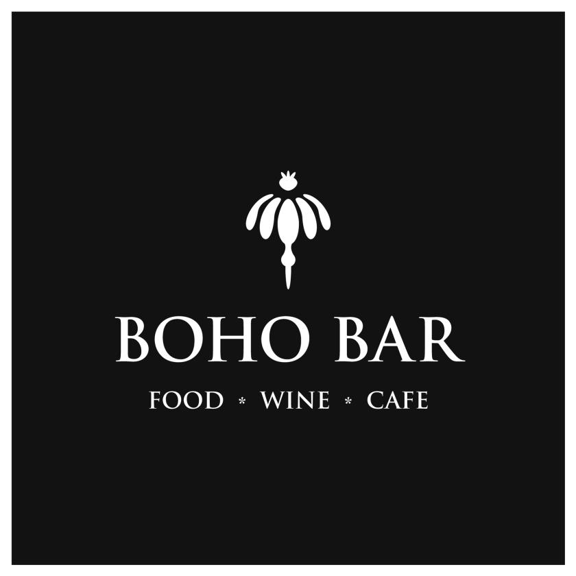 BoHo food wine cafe logo
