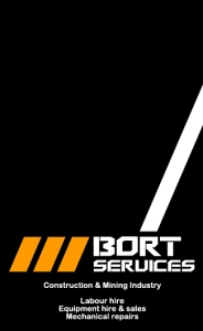 Bort Services business card