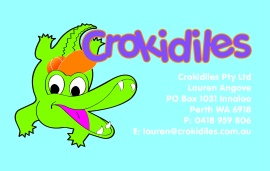 Crokidiles business card